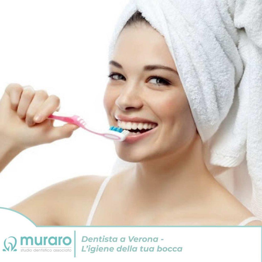 Dentista a Verona – L'igiene della tua bocca
